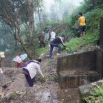 पानीको मुहान संरक्षण तथा दिगोपनाका लागि सरसफाई तथा वृक्षारोपण ।।